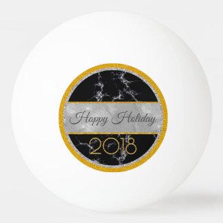 Pelota De Ping Pong Día de fiesta feliz - Año Nuevo 2018 -