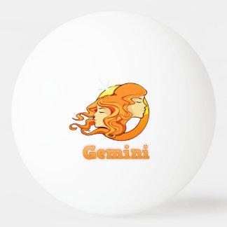 Pelota De Ping Pong Ejemplo de los géminis