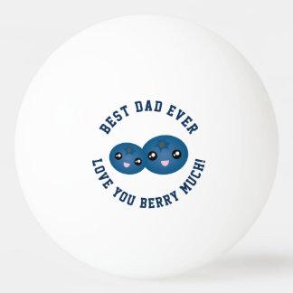 Pelota De Ping Pong El mejor amor del día de padre del papá nunca