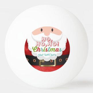 Pelota De Ping Pong Feliz Año Nuevo del navidad del juego de Papá Noel