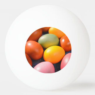 Pelota De Ping Pong Foto colorida del personalizado de los huevos de