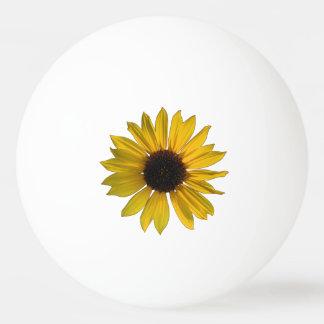 Pelota De Ping Pong Girasol amarillo salvaje