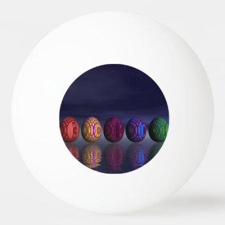 Pelota De Ping Pong Huevos coloridos para pascua - 3D rinden