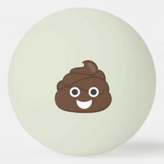 Pelota De Ping Pong Impulso tonto loco Emoji de Brown