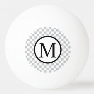 Pelota De Ping Pong LightGreyCheckerboard