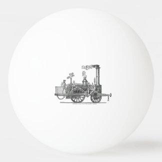 Pelota De Ping Pong Locomotora temprana del tren del vapor