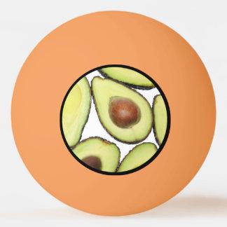 Pelota De Ping Pong Modelo del aguacate