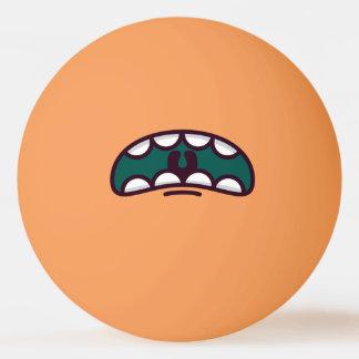 Pelota De Ping Pong Monstruo grande divertido de la boca