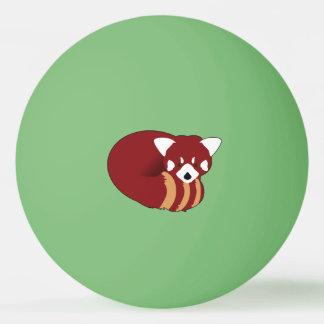 Pelota De Ping Pong Panda roja