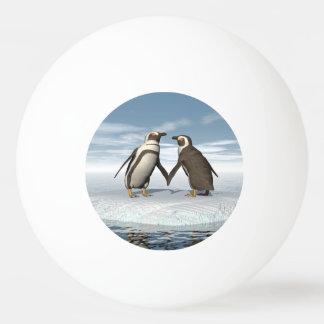 Pelota De Ping Pong Pares de los pingüinos