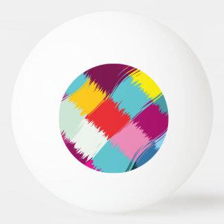 Pelota De Ping Pong Pinte el diseño del extracto de los movimientos
