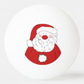 Pelota De Ping Pong Santa de ruborización lindo