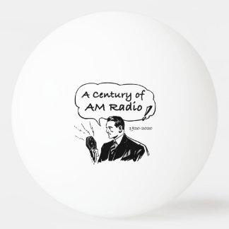 Pelota De Ping Pong Un siglo de radio de la