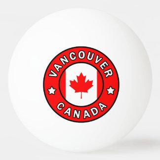 Pelota De Ping Pong Vancouver Canadá