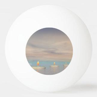Pelota De Ping Pong z+Pasos de la vela - 3D rinden