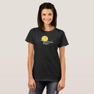 "Pelota de tenis ""HACIA FUERA"" camiseta"