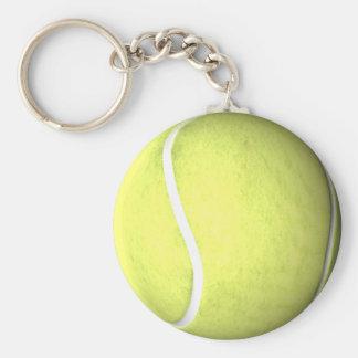 Pelota de tenis llavero redondo tipo chapa