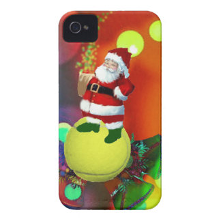 Pelota de tenis Santa y campanas Funda Para iPhone 4