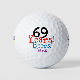 Pelotas De Golf 69 años de rasgones de las cervezas