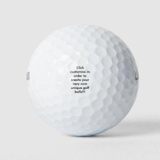 Pelotas de golf adaptables