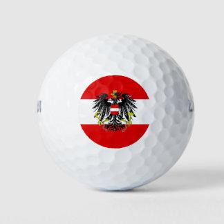 Pelotas De Golf Bandera austríaca