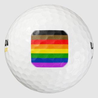 Pelotas De Golf Bandera del orgullo de Philadelphia