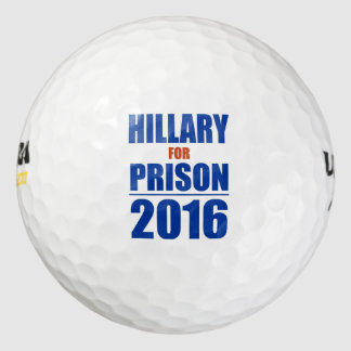 Pelotas de golf del triunfo (Hillary para la