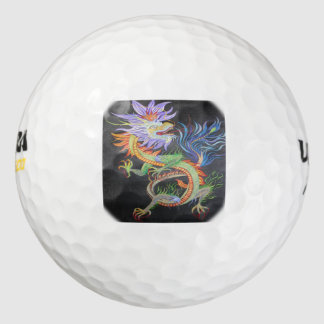 Pelotas De Golf Dragón chino