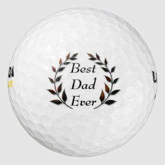 Pelotas De Golf El mejor papá nunca
