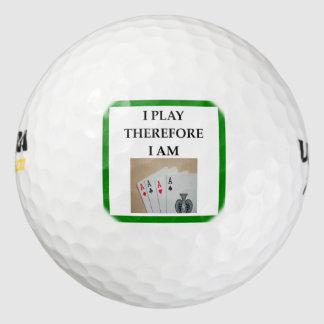 Pelotas De Golf jugador de tarjeta