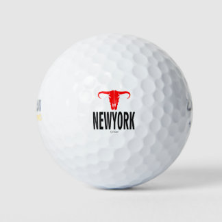 Pelotas De Golf NYC New York City por VIMAGO