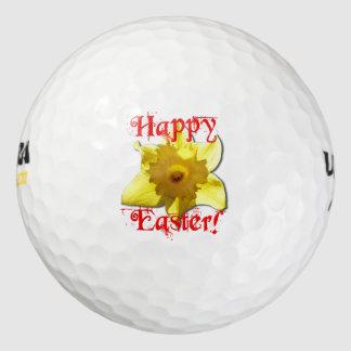 Pelotas De Golf Pascua feliz, narcisos 02.T