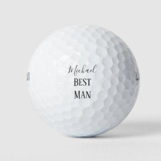 Pelotas De Golf Personalice el mejor recuerdo del hombre