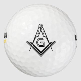 Pelotas De Golf Regalos de encargo masónicos del Freemason del