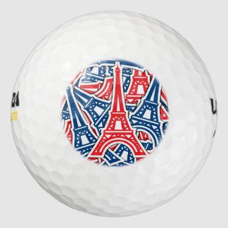 Pelotas De Golf Torre Eiffel, modelo de Francia