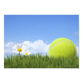 Pelotas de tenis invitación 12,7 x 17,8 cm