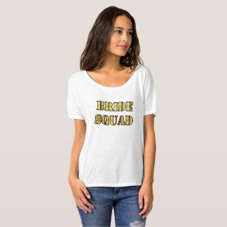 Pelotón de la novia de la camiseta de Bella de las