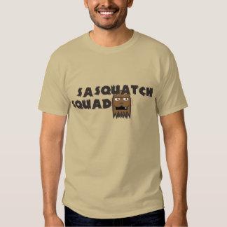 Pelotón de Sasquatch (versión de Avatar del canal) Camisas