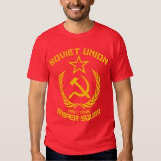 Pelotón del francotirador de Unión Soviética Camisetas