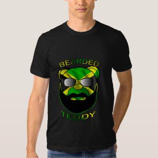 Peluche barbudo Jamaica Camisetas