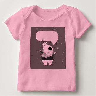 Peluche lindo agradable: Camiseta rosada