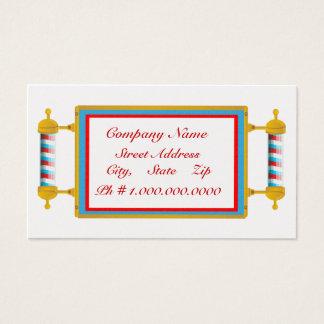Peluquería de caballeros tarjeta de visita