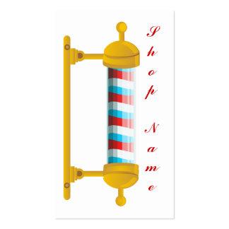 Peluquería de caballeros tarjetas de visita