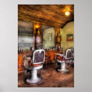 Peluquero - la peluquería de caballeros II Posters