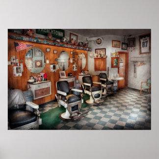 Peluquero - peluqueros de Frenchtown Póster