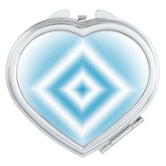 pendiente azul del diamante del Personalizar-cielo Espejos De Viaje