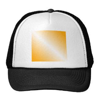 Pendiente bilinearia D1 - naranja y blanco Gorros Bordados