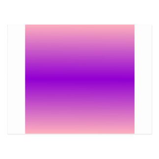 Pendiente bilinearia de H - rosa y violeta Postal