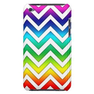 Pendiente Chevron del arco iris iPod Touch Case-Mate Cobertura