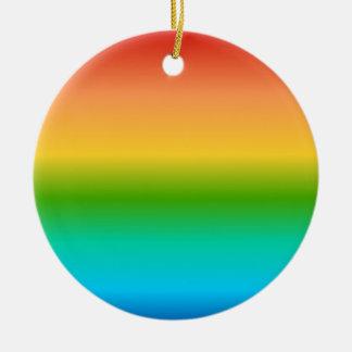 Pendiente colorida del color del arco iris ornamento para reyes magos